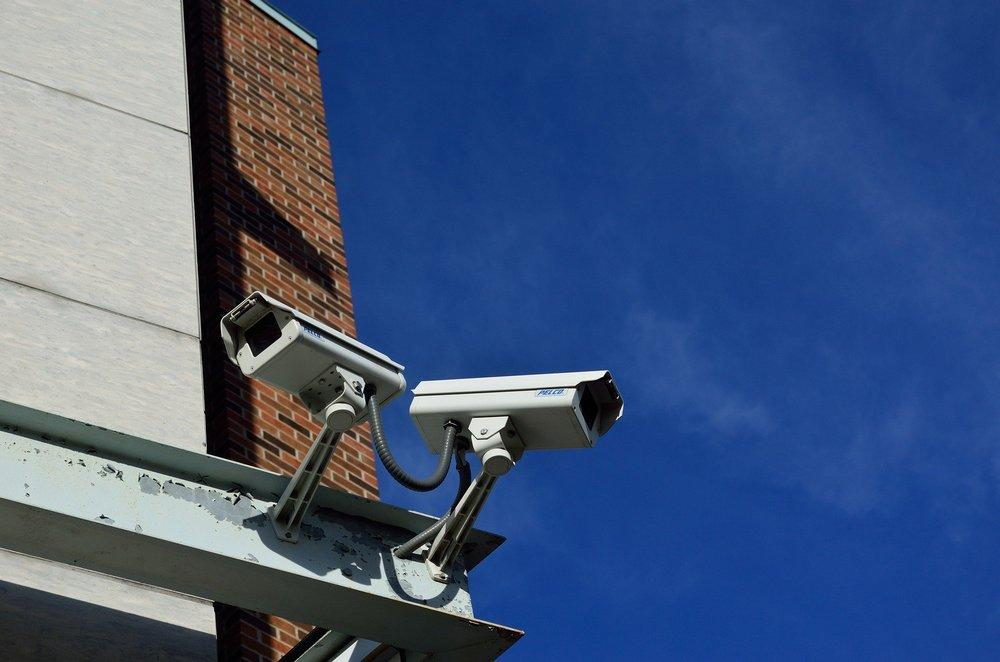 Surveillance cameras for security system